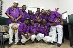 ©Youri Lenquette.Burkina-Faso. Bobo-Dioulasso. 03/2010. T.P Orchestre Poly-Rythmo de Cotonou. Tournée d'Afrique de l'Ouest.