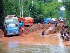 LES ROUTES AU CAMEROUN