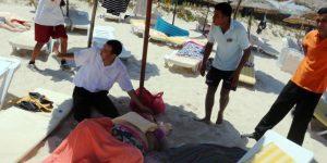 attaque en tunisie plage