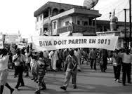 biya doit partir en 2011