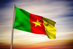 image-compose-de-drapeau-national-du-cameroun-39862143