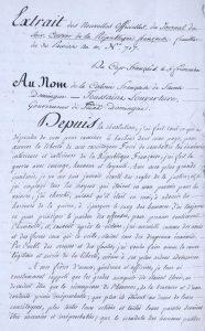 acte_ecrit_de_toussaint_louverture_contre_linsurrection_de_1801