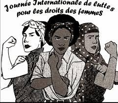 8 mars 2017 journée internationale de lutte des femmes, pour l'égalité des  droits | Coopérative égalitère : égalité femme / homme, aide à la création  d'entreprises