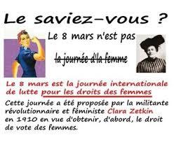 Le 8 mars c'est la journée internationale de lutte pour les droits des  femmes » Vert-le-Petit Notrevillagenotreavenir